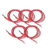 Anet® 5Pcs 24V 40W 1.5m Single End Cartridge Heater Heating Tube for RepRap Prusa i3 A8/A8 Plus 3D Printer