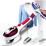 800W Mini Handheld Garment Steamer Portable Travel Steam Iron Temp 3 Levels Adjustable For Home And Business Travel