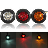 Universal Amber/Red/White Side Marker Light LED Lamp for 12V/24V Car Van Truck Trailer
