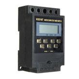KG316T programável 220 V Digital LCD Microcomputador Temporizador de Tempo de Interruptor de Fonte de Alimentação