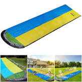 480x140cm Inflatable Water Slide Large Double Racer Pool  Surfing Children Summer Outdoor Garden Game Gift