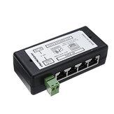 Divisor POE del inyector POE de 4 puertos para la red CCTV POE Cámara Alimentación a través de Ethernet IEEE802.3af