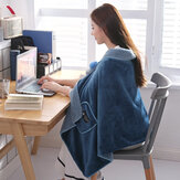 Blankets Throw Rug Snuggle Blanket Flannel Shawl for Home Office