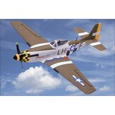 NiceSky P-51 Mustang RC Avion EPS 680mm Envergure Avion Warbird Avion PNP
