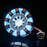 MK2 Stainless Steel remoto ver. Tony DIY Arc Reactor lampada Kit remoto Control Illuminant LED Flash Set luci