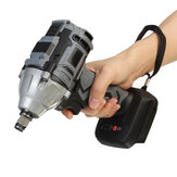 18V Brushless Wrench Electric Impact Wrench Driver Cordless Screwdriver 1/2 Inch Chuck Adapted To Makita Battery