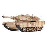 M1A2 1/24 2.4G RC modèle de véhicule de voiture de réservoir jouet