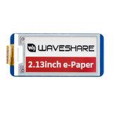 Waveshare® 2.13 Pollici Schermo E-ink Display Modulo e-Paper Interfaccia SPI Aggiornamento parziale Nero Rosso Bianco 212 × 104