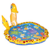 Inflatable Spray Mat Children Play Water Sprinkler Summer Water Sport for Kid Toy Gift