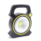 LELUO 300 Lumens Flashlight USB Rechargeable 3 Modes IPX5 Waterproof Work Lamp Camping Hunting Cycling Emergency Lantern
