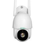 SV3C 1080P WIFI На открытом воздухе Безопасность камера Pan Tilt Двустороннее аудио Ночное видение Обнаружение человека ONVIF камера SD-карта 128 ГБ Дист