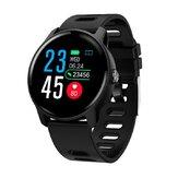 Bakeey S08 IP68 Vandtæt urskive Ansigtsændring Armbånd Blodtryk og iltmonitor Sport Tracker Smart Watch