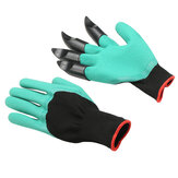 1 Pair Garden Gloves ABS Plastic Claws Home Garden Digging Planting