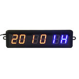1,8 '' LED Home Gym Fitness Intervall Timer Stoppuhr Wanduhr Fernbedienung