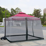 Outdoor Umbrella Mosquito Net For Home Bed Roman Umbrella Cover Safe Mesh Netting Mosquito Insect Net 3x3x2.3m