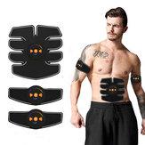 1 Conjunto Instrutor de Músculo Abdominal Massagem Estimulador Ab Sem Fio Corpo de Vibração Emagrecer Queima de Gordura Aptidão Máquina