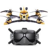 Flywoo Vampire2 HD 210mm F7 Bluetooth 6S 5 Tums FPV Racing Drone BNF w / DJI Air Unit & DJI FPV Goggles