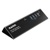 MAIWO KH2110 USB 3.0 Hub M.2 SSD HDD Enclosure Built-in M.2 SATA Channel Solid State Hard Disk Box