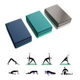 YUNMAI 2 pièces haute densité EVA Yoga blocs sport Gym corps façonnage santé formation Fitness exercice outils