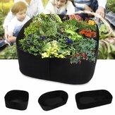 Garden Grow Flowerpot Planter Container with Planting Pots for Outdoor Indoor Vegetable