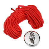 D80mm 400KG Strong Powerful Neodymium Recovery Magnet Salvage Tool Recovery Fishing Kits with 10m Rope