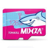 MIXZA Shark Edition Kartu Memori 128GB TF Card Class10 Untuk Kamera Smartphone MP3