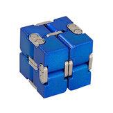 プレミアムアルミ合金InfinityCube変形魔法CubeフィダットトイEDCストレスリリーフおもちゃ