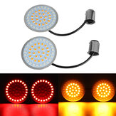 1157 LED Turn Signal Insert For Harley-Davidson For Dyna For Softail For Sportster Road Glid