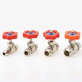 Ball Balve 6mm 8mm 10mm 12mm Pipe Orange Plastic Handle Metal High Pressure Durable Tube Needle Type Globe Valve