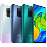 Xiaomi Redmi Note 9 Global Version Caméra Quad 6,53 pouces 48MP 3 Go 64GB 5020mAh Helio G85 Octa core 4G Smartphone