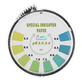Precision PH Test Strips Roll Kort rækkevidde 5.5-9.0 Indikator Paper Tester Dispenser Color Chart 5m / 16.4 ft