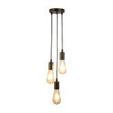 Потолочная лампа Loft Лампа Винтаж Люстра Home Dining Bar Промышленная Кулон