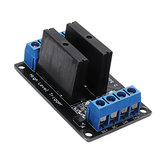 3pcs 2 Channel 12V Relay Module Solid State High Level Trigger 240V2A Geekcreit for Arduino - products that work with official Arduino boards