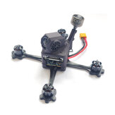 17g URUAV FORCE HD3 118mm 3 Inch Toothpick FPV Racing Frame Kit w/ Nylon SLS Printed Capony compatible DJI Caddx Nebula Vista