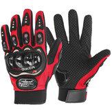 Luvas de motocicleta masculinas com tela sensível ao toque em bicicleta, ciclismo, motocicleta, respirável