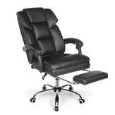 BlitzWolf® BW-OC1 Cadeira de escritório ergonômica Design com assento reclinável largo 150 ° Apoio para os pés retrátil Material de PU Almofada lombar