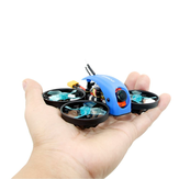 SPC Maker Mini Whale 78mm F4 FPV Racing Drone PNP BNF w/ 25/100mW VTX Runcam Robin Camera