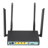 OEM we2416 4G Wireless WiFi Router Mobiler Router 5Port 300 Mbit / s 580 MHz Karte / Breitband 2-in-1 Industrial Router Unterstützung SIM-Karte USB
