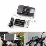 BMW R1200GS / ADV / S1000XR高バージョン用Garmin GPS USBナビゲーション電話ホルダーブラケット充電器
