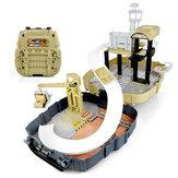 Simulação Estacionamento Backpack Engineering Military Track Slide Elevador para crianças Brinquedos educativos para presentes