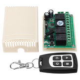 DC12V 4CH Learning Code Remote Control Switch Momentary /Toggle /Latche 315M/433M Circuit Board