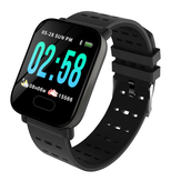 Bakeey M20 1.3' Big Screen Real Time HR Blood Oxygen Pressure Monitor Long Standby Sport Smart Watch
