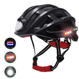 ROCKBROS Cycling Helmet Bicycle Waterproof Light For Road MTB Bike USB Charging for Flido D4s