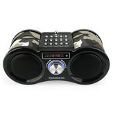Retekess TIVDIO Digital Display FM AM Stereo Radio Dual 1.6W Bass Loudspeaker USB Disk SD Card MP3 Player AUX Speaker