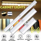 Czujnik światła i ruchu pod oświetleniem szafki Bezprzewodowe ultracienkie światło do szafy