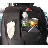 Araba Koltuk Deposu Çanta Düzenleyici Tutucu Çoklu Cep Seyahat Depolama Asma Çanta