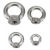 M3 M4 M5 M6 Ring Shape Lifting Eye Nut Vrouw 304 Roestvrij Staal Eye Nut