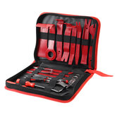 25Pcs Car Door Molding Removal Pry Tool Kit Dash Panel Audio Seal Interior Trim Removal Hook