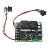 DC 10-50V 12/24/48V 60A PWM DC Motor Speed Controller CW CCW Reversible Switch Module