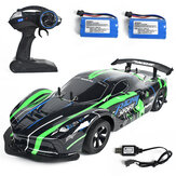 1:10 2.4G 4WD Drift Racing Car High Speed Off Road RC Car Lamplight 25KM/h For RC Vehicles Model Multi Batteries